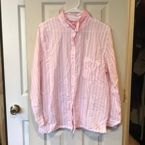 Victoria's Secret Pajama Shirt